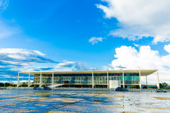 The Alvorada Palace Residence of the President of Brazil in Brasilia Royalty Free Stock Photos