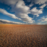 Alvord dry lakebed, Oregon, USA. Dry and cracked dry lake bed of the Alvord Desert in southeastern Oregon, USA Royalty Free Stock Photography