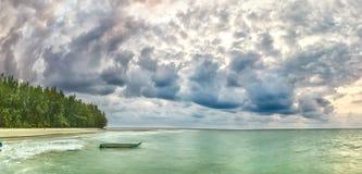 Alvorecer na ilha Phu Quoc Fotografia de Stock