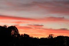 Nascer do sol de Canberra Imagens de Stock