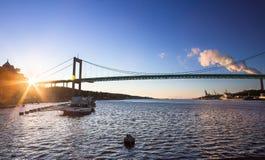 Alvsborg-Brücke in Goteborg, Schweden Lizenzfreie Stockfotos