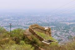 Alwar fort Royaltyfri Foto