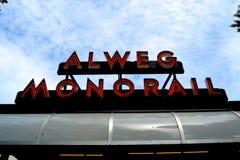Alweg-Einschienenbahn Lizenzfreie Stockfotografie