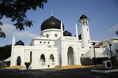 Alwi-Moschee in Kangar Lizenzfreie Stockfotos