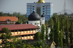 Alwi Mosque in Kangar Stock Photos
