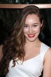 Alycia Debnam-Carey at the Australians in Film 8th Annual Breakthrough Awards, Hotel Intercontinental, Century City, CA 06-27-12 Royalty Free Stock Photo