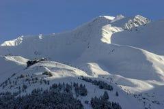 Alyeska Ski Resort in Anchorage, Alaska stock afbeeldingen