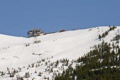 Alyeska Skiort lizenzfreies stockbild