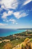 Alykes海湾,扎金索斯州海岛 免版税库存图片