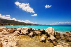 Alykes beach on Zakynthos island Royalty Free Stock Image