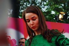 Alyona Akhmaddulina at XXXVI Moscow International Film Festival Stock Photo