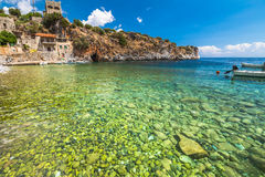 Alypa Beach Peloponnese Stock Photography