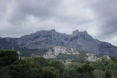 Alypka sydlig kust av Krimet royaltyfria foton