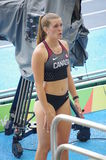 Alysha Newman, Canadian track and field athlete Royalty Free Stock Photography