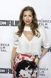 Alysia Reiner Arrives am 17. Tribeca-Film-Festival lizenzfreie stockfotos