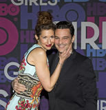Alysia Reiner and David Alan Basche Royalty Free Stock Photography