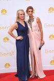 Alysia Reiner & Piper Kerman. LOS ANGELES, CA - AUGUST 25, 2014: Alysia Reiner & Piper Kerman at the 66th Primetime Emmy Awards at the Nokia Theatre L.A Royalty Free Stock Photo