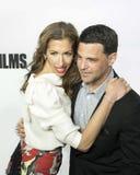 Alysia Reiner und David Alan Bosche Arrive am 17. Tribeca-Film-Festival stockfoto