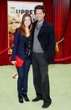 Alyson Hannigan und Alexis Denisof stockfoto