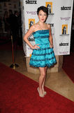 Alyssa Lobit at the 13th Annual Hollywood Awards Gala. Beverly Hills Hotel, Beverly Hills, CA. 10-26-09 Royalty Free Stock Images