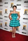 Alyssa Lobit, die zu dem 13. Film-Festival Annuall Hollywood kommt, spricht Gala Ceremony zu Stockfoto