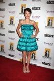 Alyssa Lobit, die zu dem 13. Film-Festival Annuall Hollywood kommt, spricht Gala Ceremony zu Lizenzfreie Stockfotos