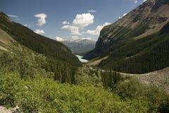Alza de Lake Louise Fotos de archivo libres de regalías