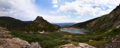 Alza del glaciar de Colorado Fotos de archivo libres de regalías