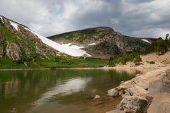 Alza del glaciar de Colorado Fotos de archivo