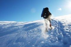 Alza del invierno Fotografía de archivo libre de regalías