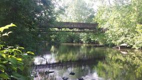 Alza del rastro del río Imagen de archivo libre de regalías