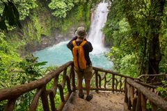 Alza en Costa Rica imagen de archivo