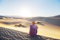Alza en el desierto Fotos de archivo