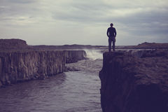 Alza en Islandia fotos de archivo libres de regalías