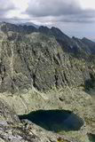Alza en las montañas Foto de archivo libre de regalías
