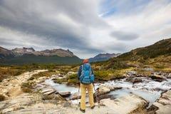 Alza en Patagonia foto de archivo libre de regalías
