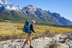 Alza en Patagonia imagen de archivo libre de regalías