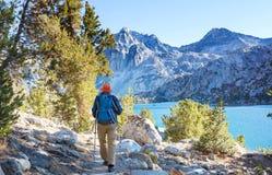 Alza en Sierra Nevada foto de archivo libre de regalías
