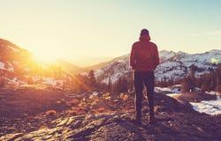 Alza en Sierra Nevada Fotografía de archivo libre de regalías