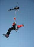 Alzamiento de helicóptero Hiro foto de archivo