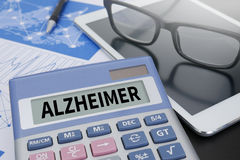 ALZHEIMER Royalty Free Stock Photography