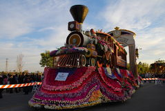 Alzheimer float at tournament of roses Rose Parade Stock Photos