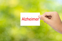 Alzheimer Stock Photo