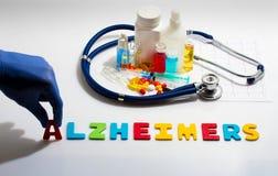 Alzheimers Foto de archivo libre de regalías