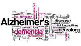 Alzheimers Fotografia Stock