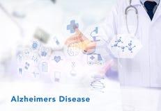 Alzheimers choroby pojęcie Zdjęcie Royalty Free