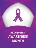 Alzheimerss choroby świadomości faborek Zdjęcia Royalty Free