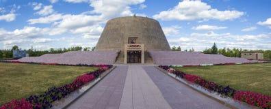 Alzhir - μουσείο και αναμνηστικός σύνθετος των θυμάτων των πολιτικών καταστολών και του ολοκληρωτισμού Στοκ Εικόνες