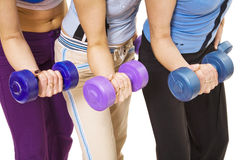 améliorez les muscles Image libre de droits