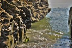 Aménage la mer en parc de nature Image stock